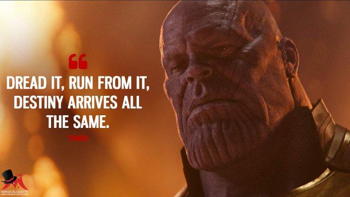 Thanos quote
