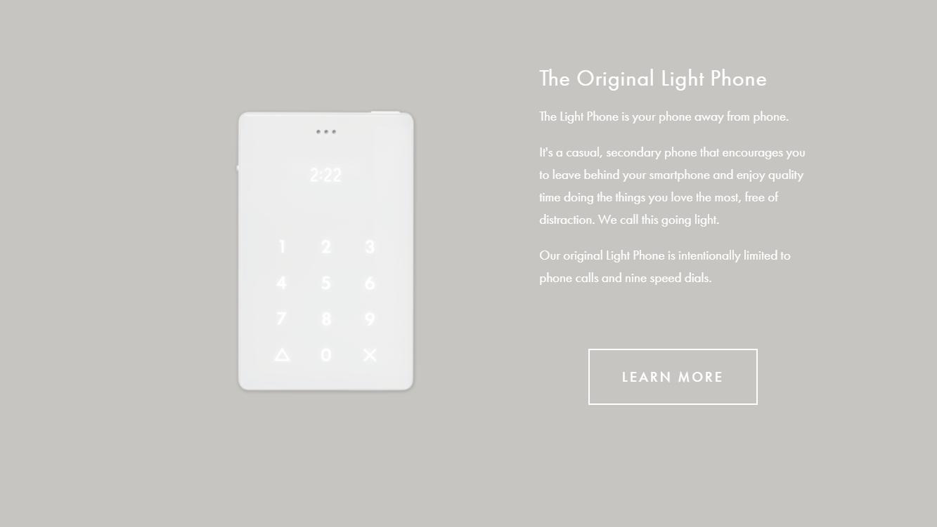 light phone 1