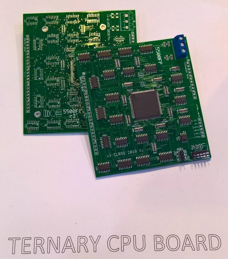ternary CPU board