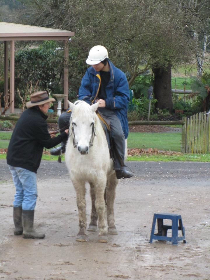 horse riding
