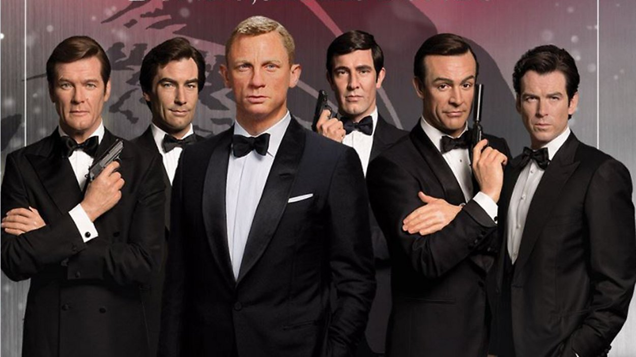 6 James Bonds